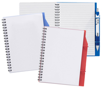 7 x 5 Poly Ruled Notebook