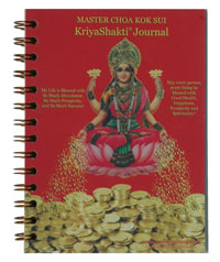 spiral journal with a clear poly cover over a full-color top sheet