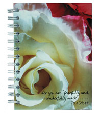 spiral journal with full-color digital print on cover