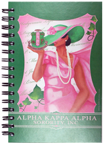 aka sorority full color digital print moutned on board journal