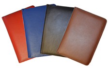 Red, Blue, Black, British Tan Classic Leather Journals