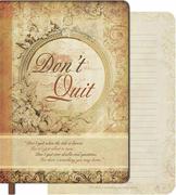 Dont Quit Softcover Journal