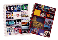 hard cover spiral notebooks with full color covers