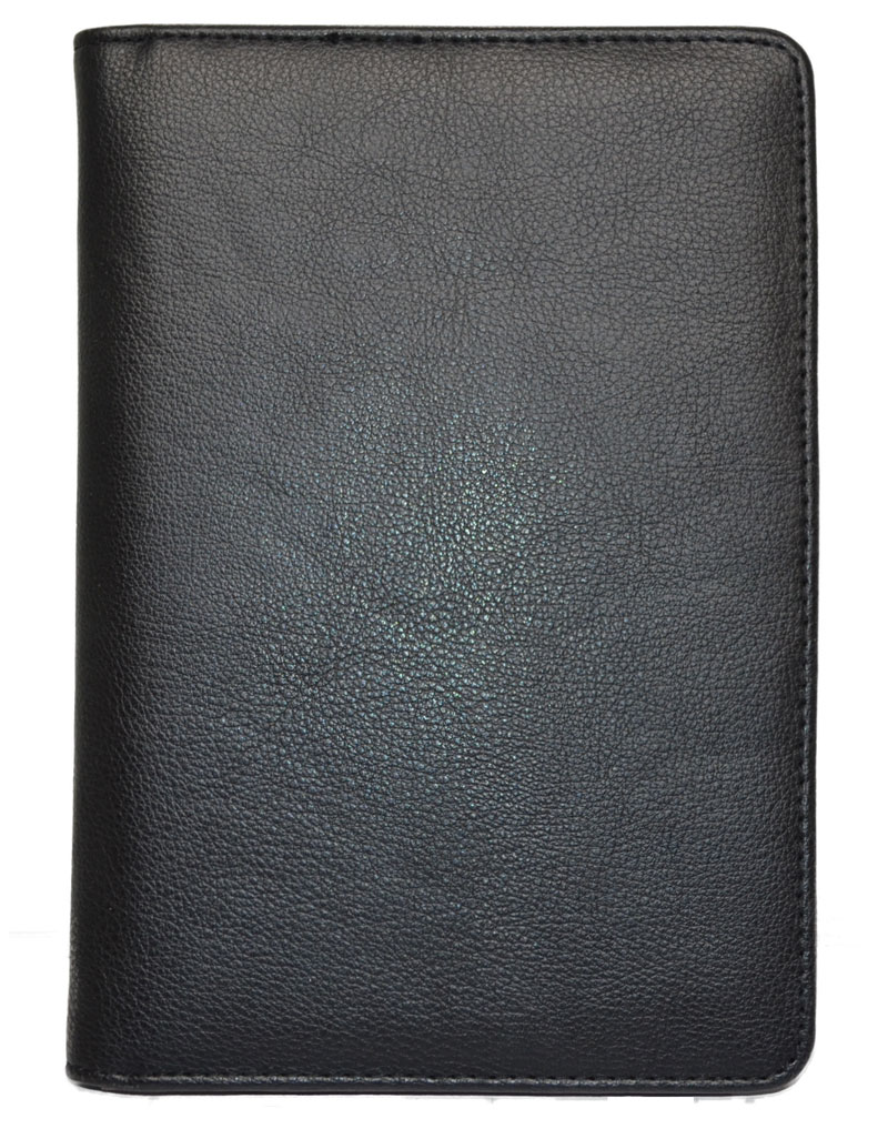 Book Cover Black : Journals notebooks leather covered