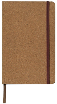 cork journal, perfect bound journal